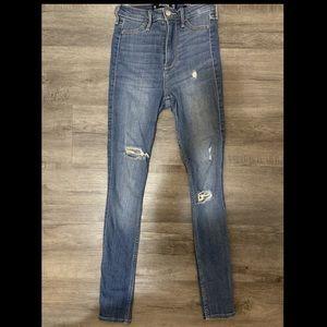 Hollister Super High Rise Jeans